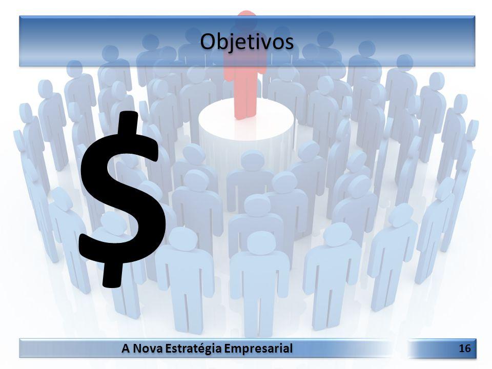 A Nova Estratégia Empresarial 16 $ Objetivos