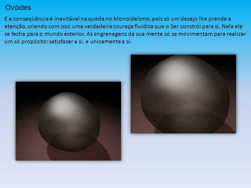 Ovoidização Simulação em imagens...