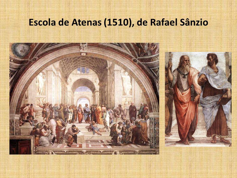 Escola de Atenas (1510), de Rafael Sânzio