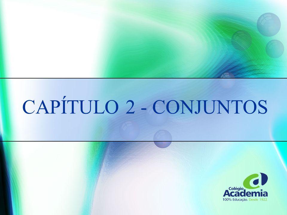 CAPÍTULO 2 - CONJUNTOS