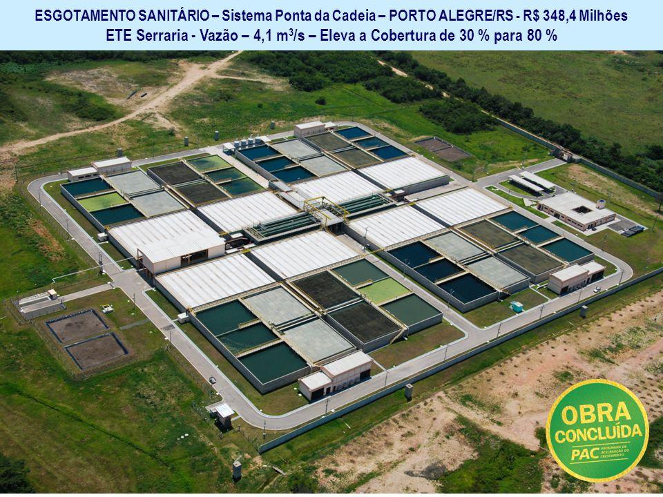 Ministério das Cidades Secretaria Nacional de Saneamento Ambiental GARANTIR O SANEAMENTO BÁSICO E SUA UNIVERSALIZAÇÃO ESGOTAMENTO SANITÁRIO – Sistema