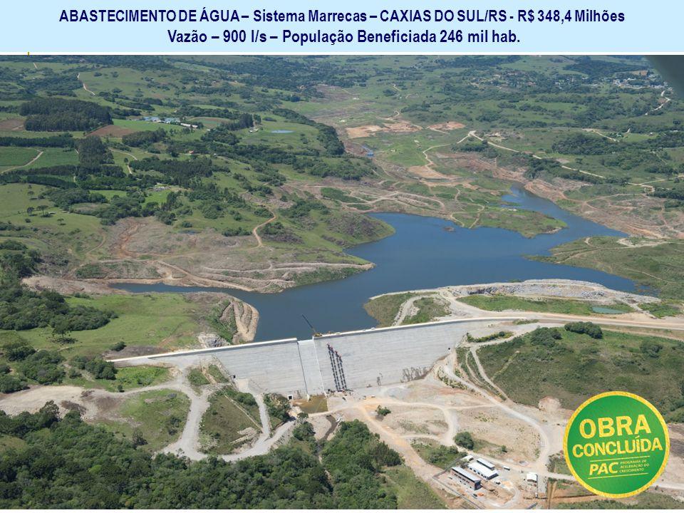 Ministério das Cidades Secretaria Nacional de Saneamento Ambiental GARANTIR O SANEAMENTO BÁSICO E SUA UNIVERSALIZAÇÃO -- ABASTECIMENTO DE ÁGUA – Siste