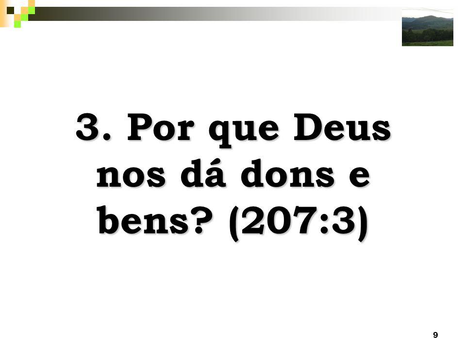 20 Deus fará a igreja de _ responsável, como um corpo, pela conduta errônea de seus membros.