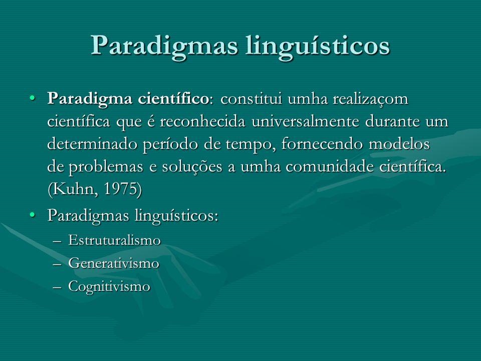 A linguística aplicada Um conjunto determinado de subdisciplinas que se diferencia da linguística estrita polo facto de o conhecimento se orientar cara a umha finalidade diferente: proporcionar soluções práticas a problemas concretos de base linguística.