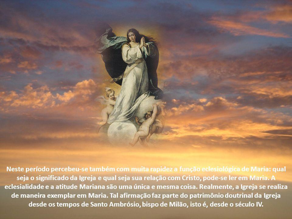 A reflexão sobre a Virgem Mãe do Senhor começa já com o Novo Testamento e se desenvolve rapidamente na patrística. Pode-se ver isso desde o começo: nã