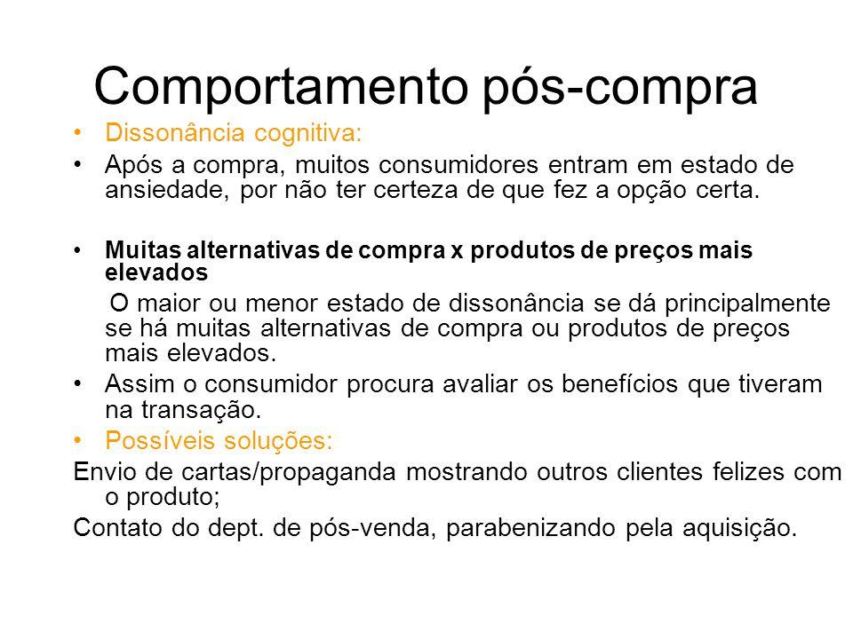 Fatores Externos 4)Fatores Pessoais Os consumidores reagem de forma diferente sob estímulos iguais, pois cada um possui um cérebro (caixa preta) diferente.
