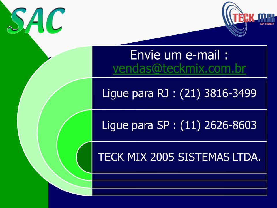 Veja como é fácil adquirir o seu : Imprimir e preencher o Pedido de Compra (clique aqui)clique aqui Enviar o pedido junto com o comprovante do depósito bancário para nosso Fax: (21) 3816-3499 Para maiores informações (11) 2626-8603(21) 3816-3499 Versão mono-usuárioR$ 600,00 Versão rede-localR$ 600,00 + ___ quantidade terminais x R$ 150,00 O CD de instalação será imediatamente enviado via correios Dispensa treinamento – Liberação Via Internet