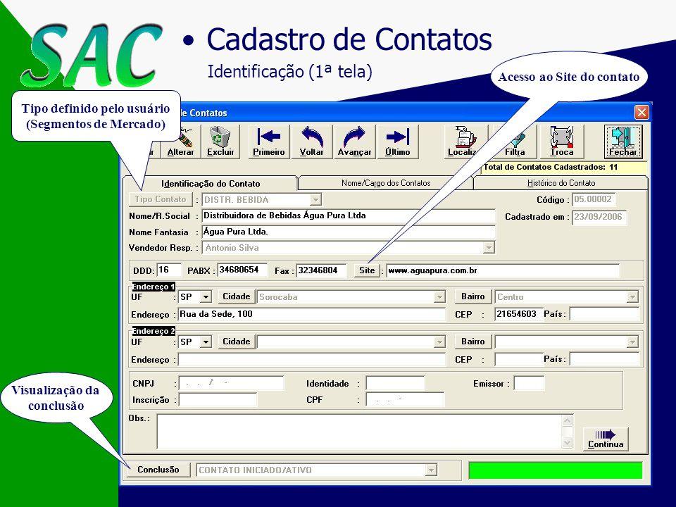 Tela Principal Acesso aos recursos do sistema Data, Hora e Usuário Verificação minuto a minuto de compromissos agendados