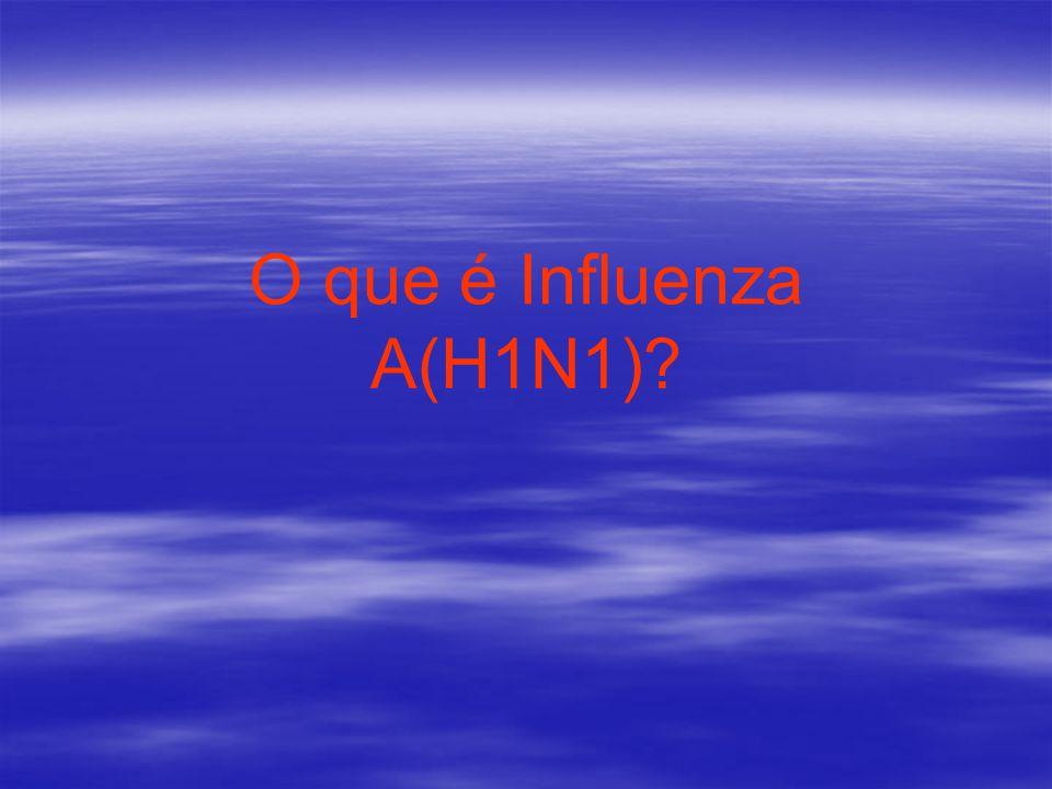 O que é Influenza A(H1N1)?