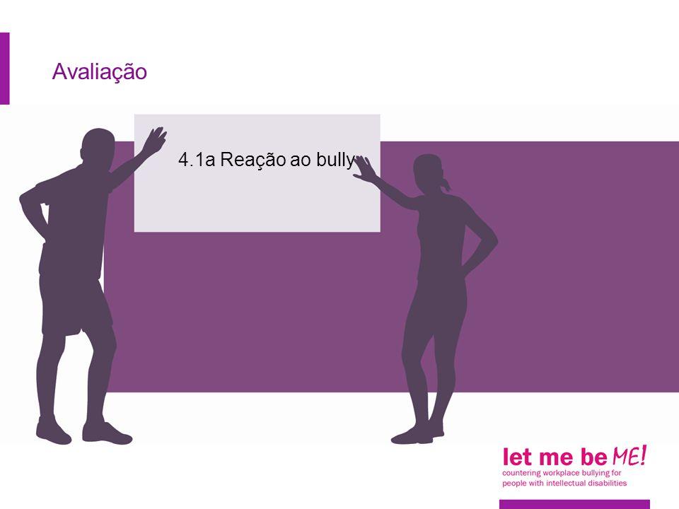 4.4 Testemunhar o bullying