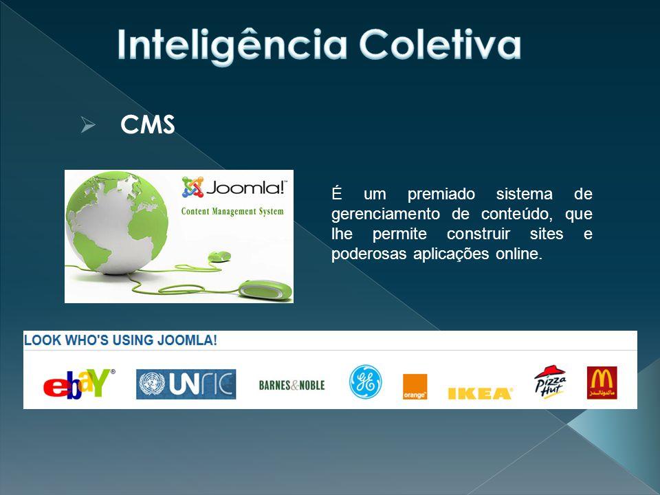  CMS É um premiado sistema de gerenciamento de conteúdo, que lhe permite construir sites e poderosas aplicações online.