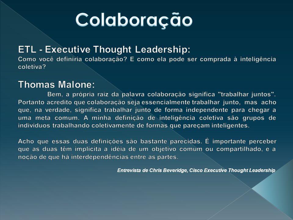 Entrevista de Chris Beveridge, Cisco Executive Thought Leadership
