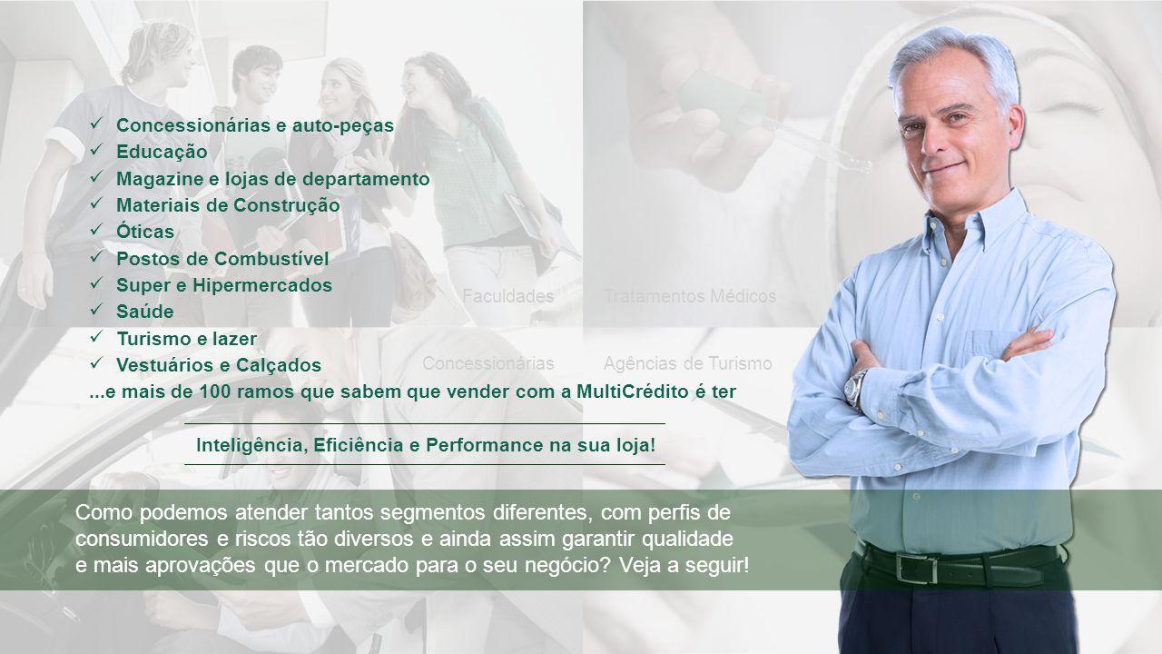 Agências de TurismoConcessionárias Tratamentos MédicosFaculdades Concessionárias e auto-peças Educação Magazine e lojas de departamento Materiais de C