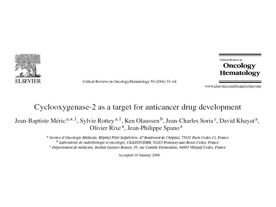 Como a COX contribui para o câncer  Invasão e Metástase Fernandez et al.