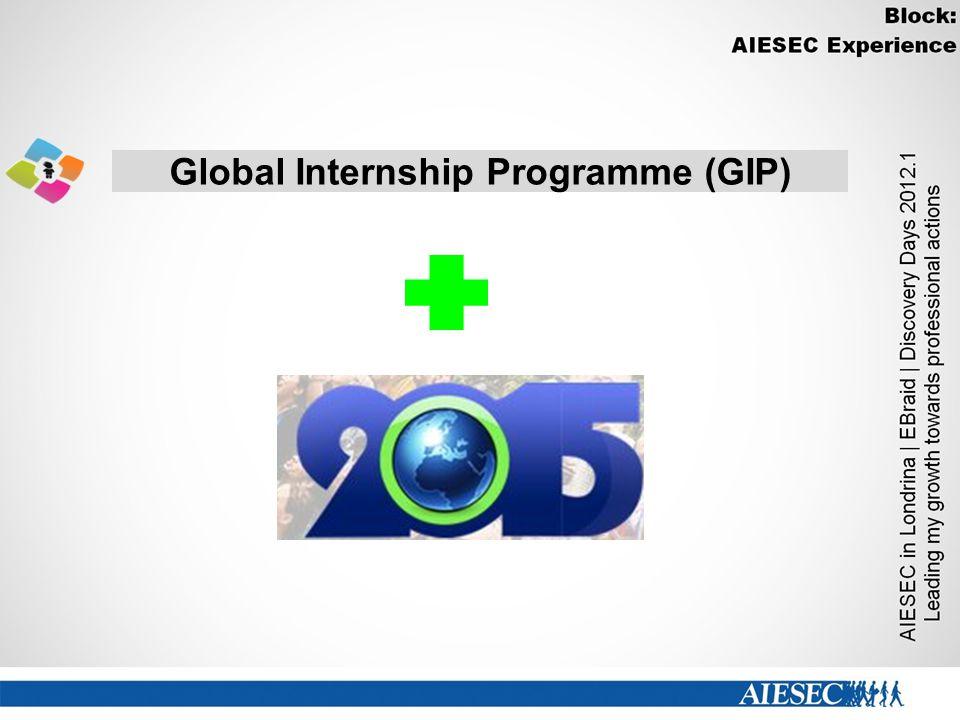 Global Internship Programme (GIP)