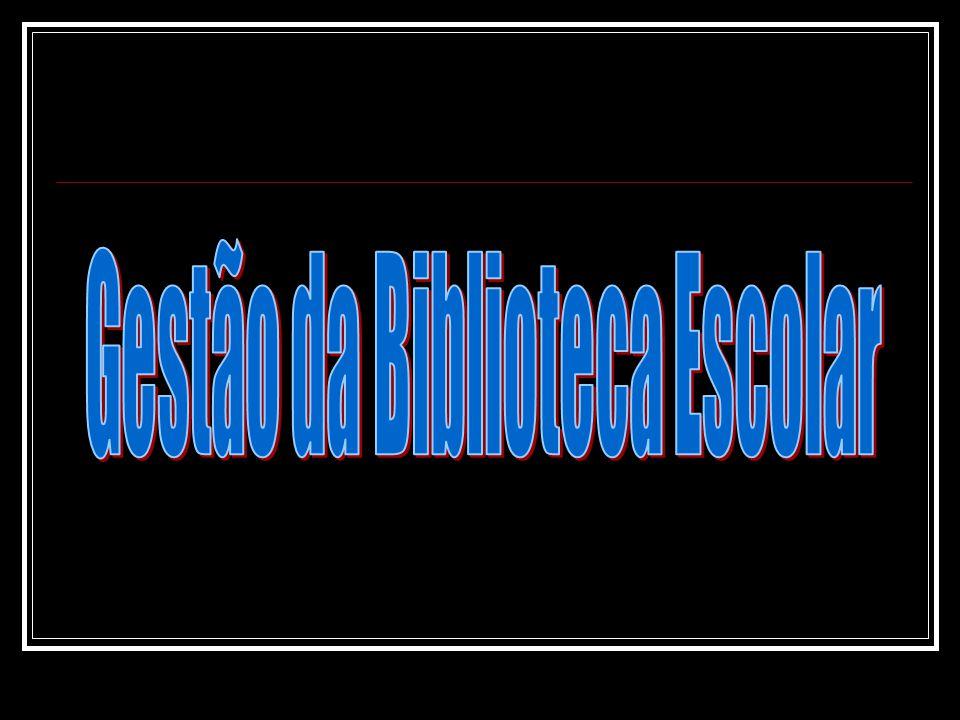 Gestão da Biblioteca Escolar Gerir é segundo a definição mais corrente, a arte de conduzir uma organização, com vista ao cumprimento da sua missão e objectivos que deve cumprir.