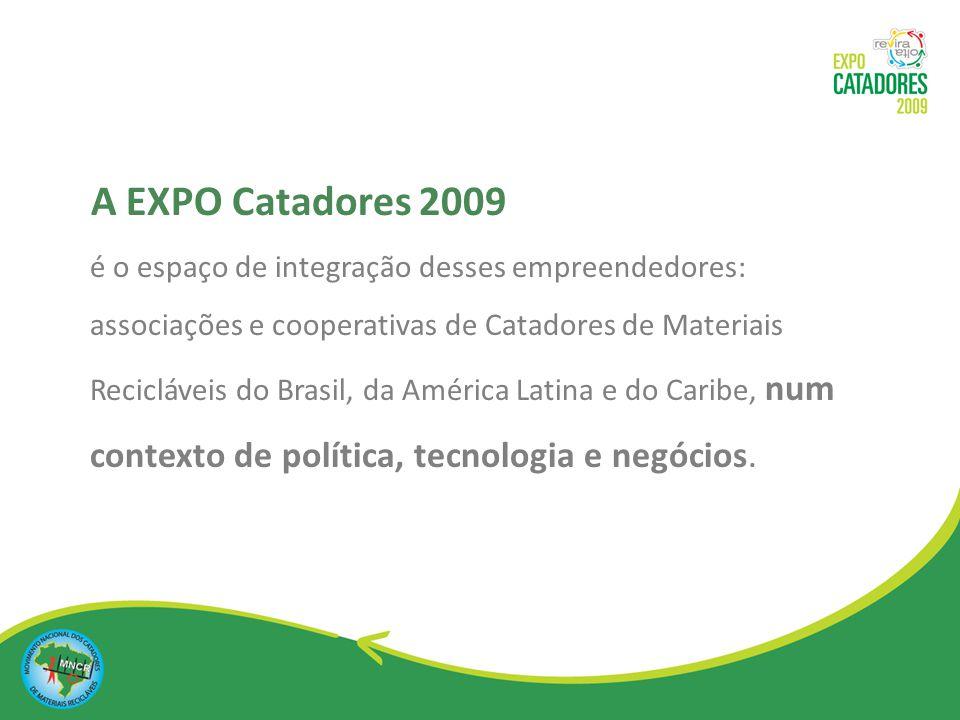 é um evento do interesse de todos os setores da sociedade: governo, empresas, ongs, meio acadêmico e comunidade.