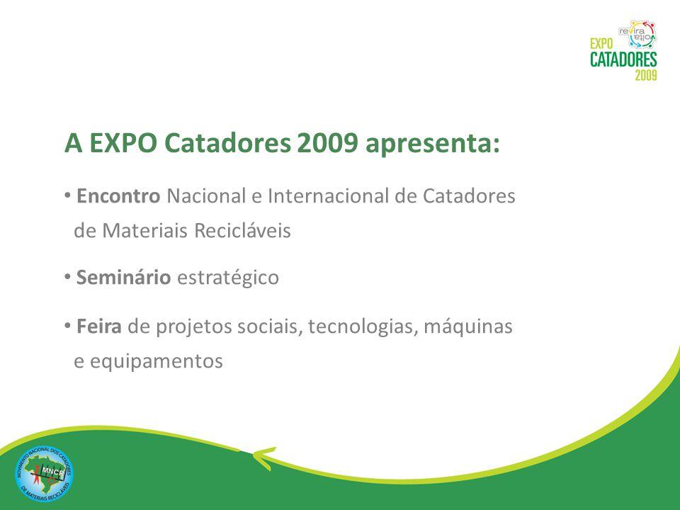 Encontro Nacional e Internacional de Catadores de Materiais Recicláveis Apresentação