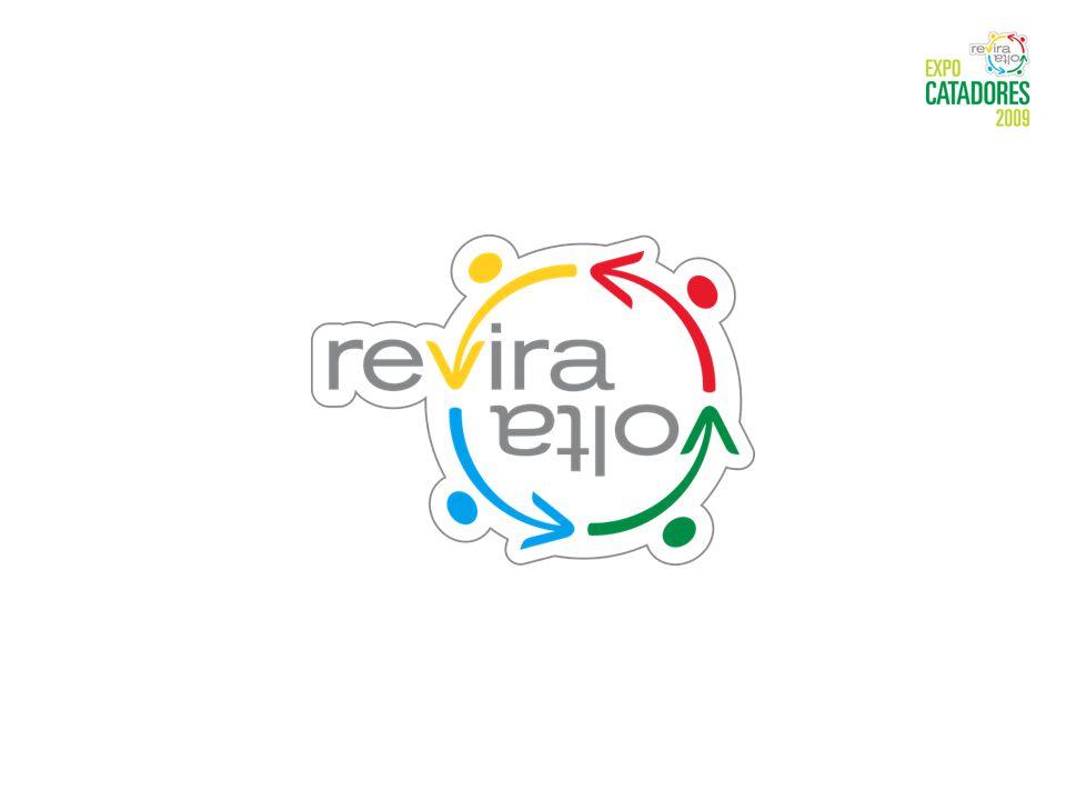 Reviravolta é a marca que identifica as ações do Movimento Nacional dos Catadores Reviravolta na vida do catador, que se tornou agente do desenvolvimento sustentável Reviravolta na vida das pessoas, que despertam para o consumo consciente Reviravolta na vida do mundo, que poupa recursos naturais, reinserindo os materiais reciclados na cadeia produtiva