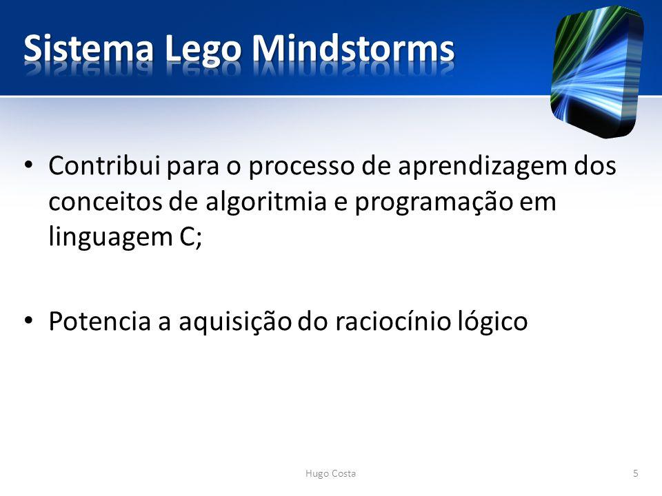 Contribui para o processo de aprendizagem dos conceitos de algoritmia e programação em linguagem C; Potencia a aquisição do raciocínio lógico Hugo Costa5