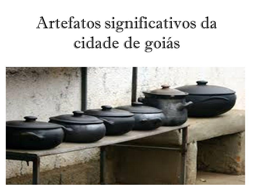 Artefatos significativos da cidade de goiás