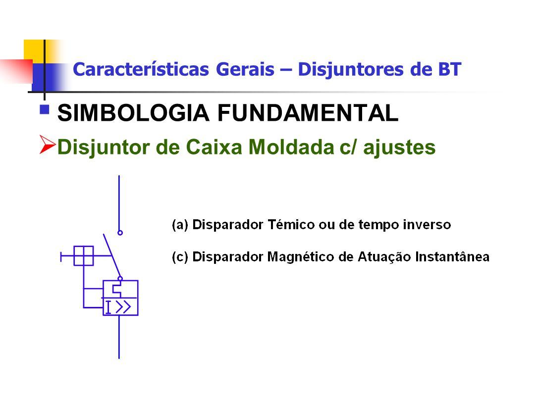  SIMBOLOGIA FUNDAMENTAL  Disjuntor de Caixa Moldada c/ ajustes