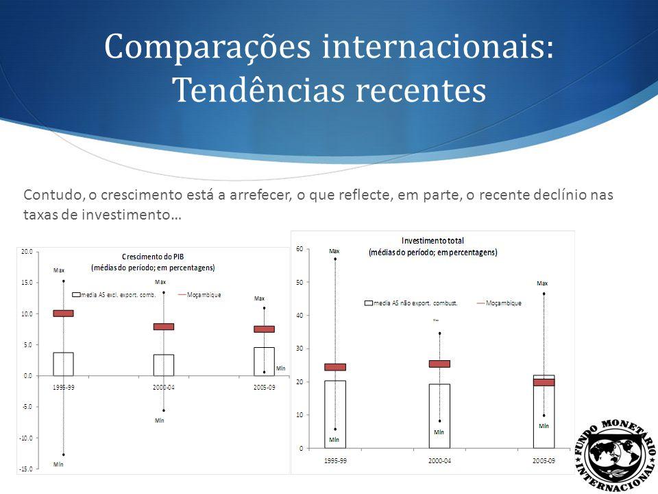 Comparações internacionais: Investimento total … que, em contrapartida, estão a aumentar entre os países homólogos … 16