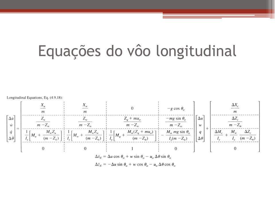 Equações do vôo longitudinal