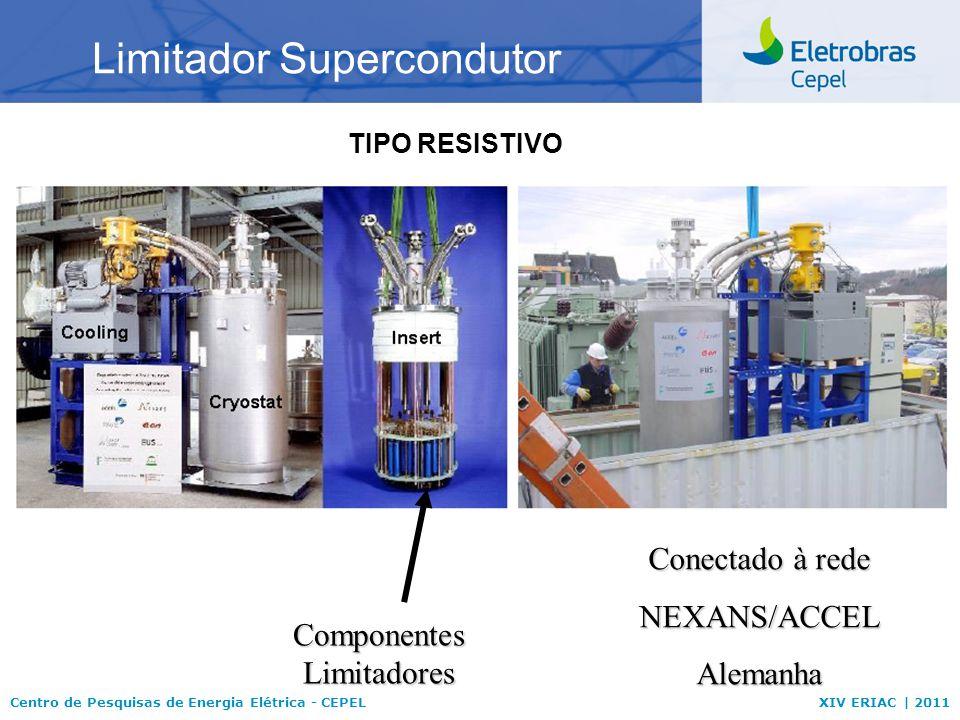Centro de Pesquisas de Energia Elétrica - CEPELXIV ERIAC | 2011 Limitador Supercondutor Conectado à rede NEXANS/ACCELAlemanha Componentes Limitadores