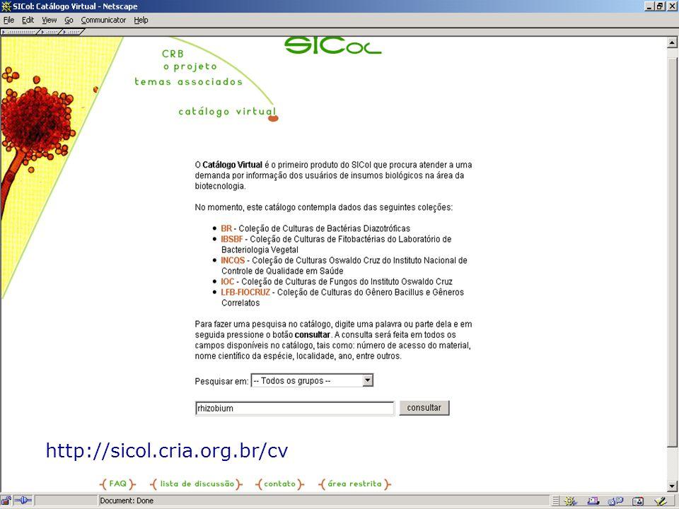 http://sicol.cria.org.br/cv
