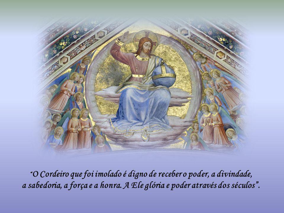 """O Senhor diz: """"Eis que venho em breve, e a minha recompensa está comigo, para dar a cada um conforme as suas obras. Eu sou o Alfa e o Ômega, o Primeir"""