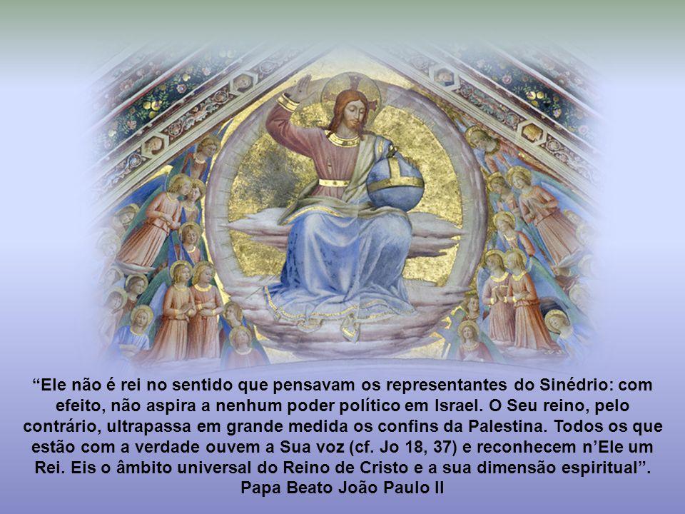 Oração do Dia Deus eterno e todo-poderoso, que dispusestes restaurar todas as coisas no vosso amado Filho, Rei do universo, fazei que todas as criatur