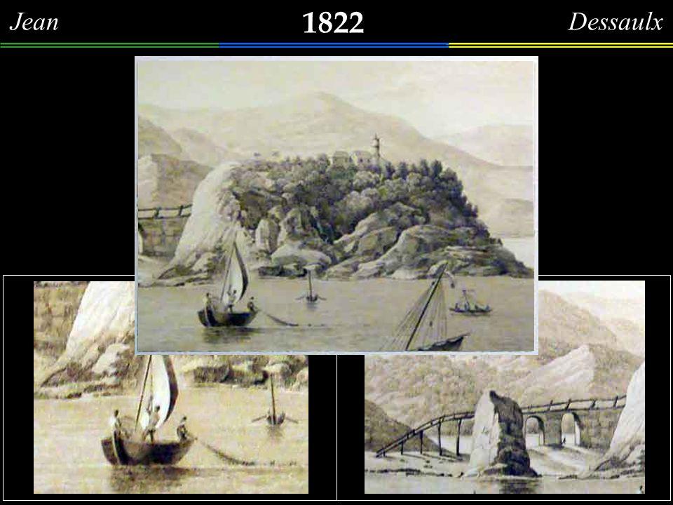 1822 Moinho de Vento Levantamento do mecanismo interno de um dos moinhos de vento, que começaram a funcionar, em 1809, no Rio de Janeiro - morro de Sã