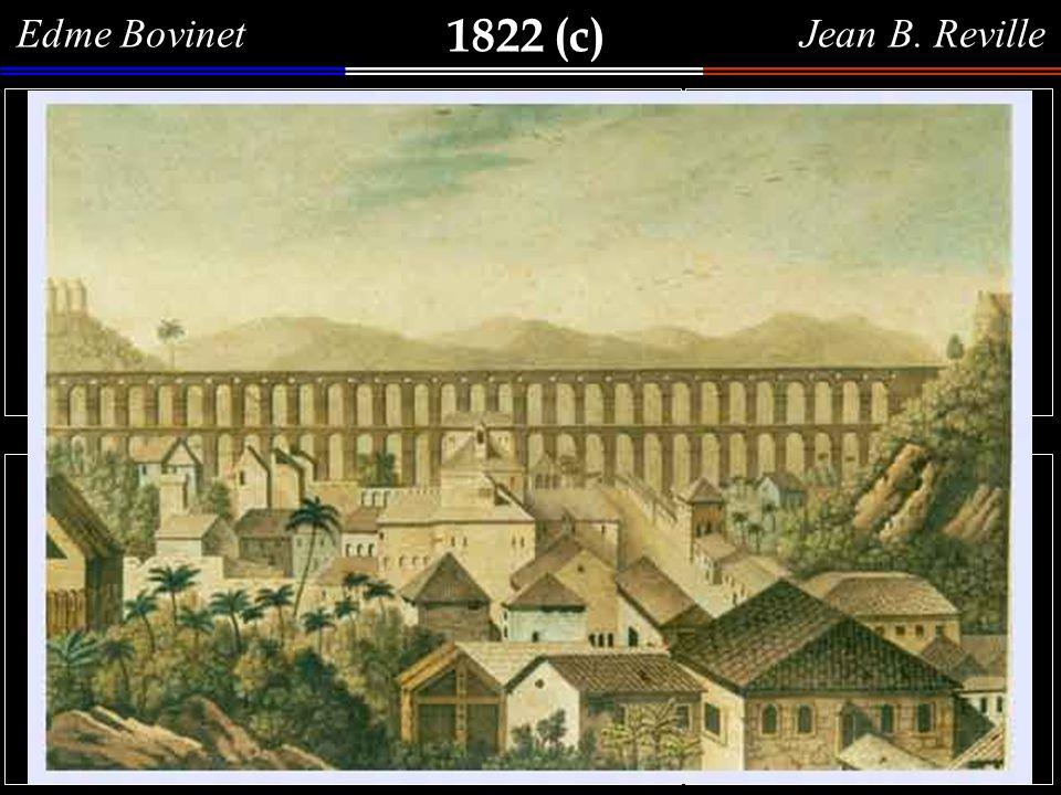 1822 Vue de Notre Dame de Bom Voyage. Vista da Ilha de Nossa Senhora da Boa Viagem, baía de Guanabara, gravura a buril (23,7 x 32,4 cm) - lâmina n. 4