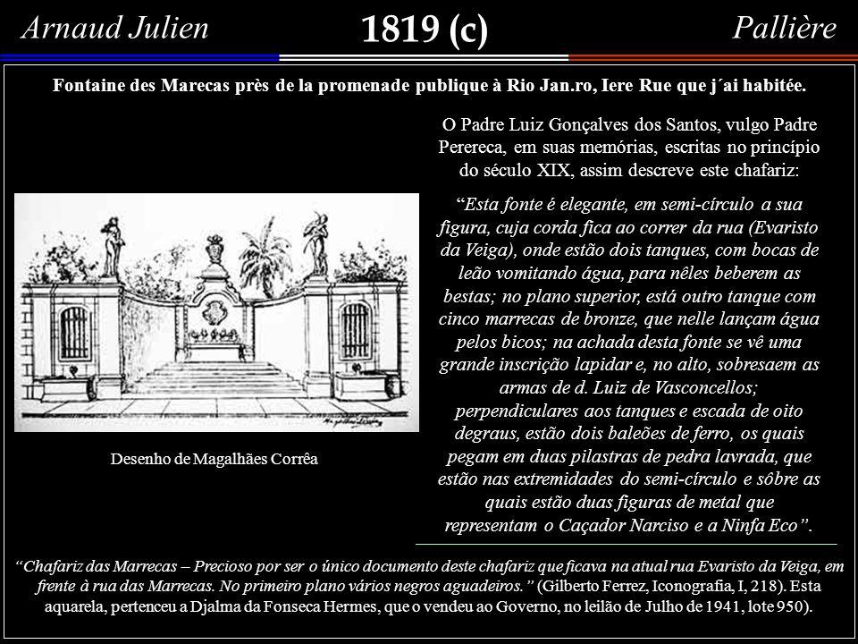 1819 Detalhe 1Detalhe 2 Detalhe 3 Malhando Judas em uma rua do Rio de Janeiro. Título original: Scéne Brasilienne; aquarela de Adrien Aimé Taunay, 181