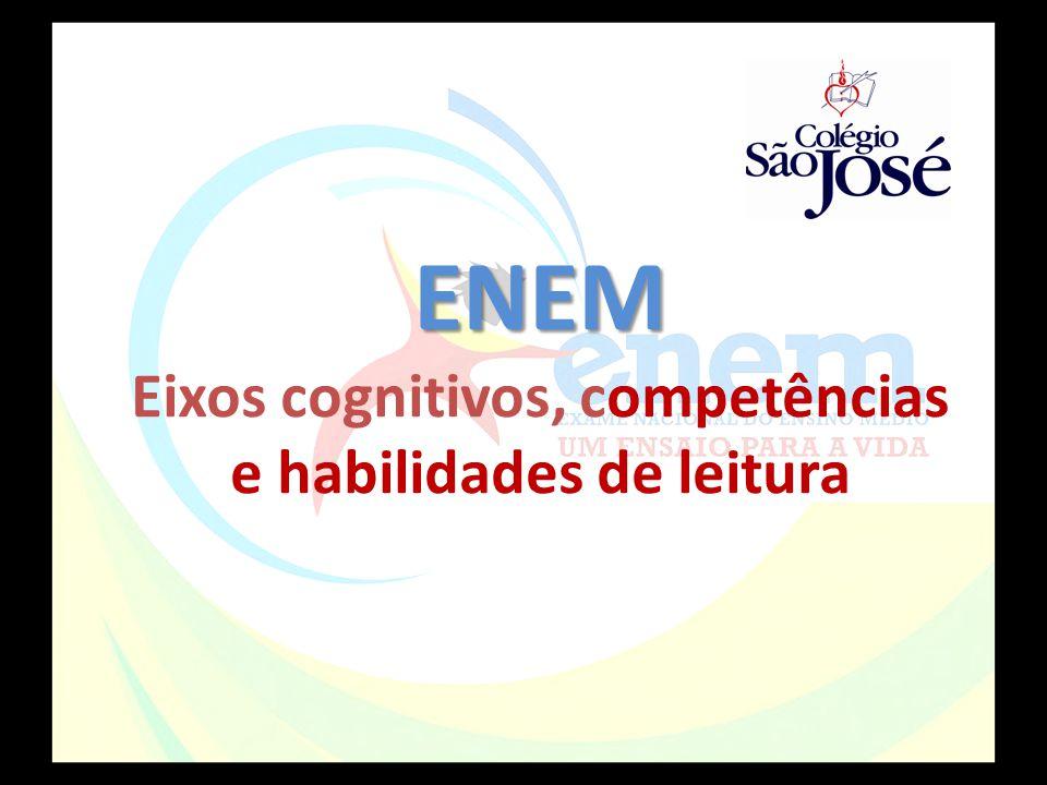 ENEM ENEM Eixos cognitivos, competências e habilidades de leitura