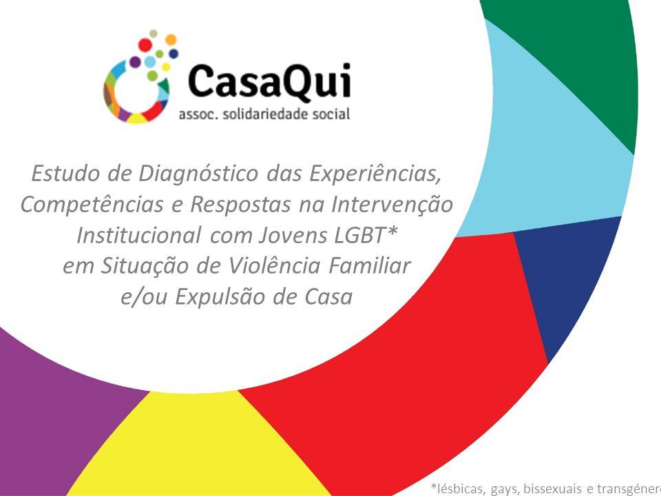 Estudo de Diagnóstico das Experiências, Competências e Respostas na Intervenção Institucional com Jovens LGBT* em Situação de Violência Familiar e/ou