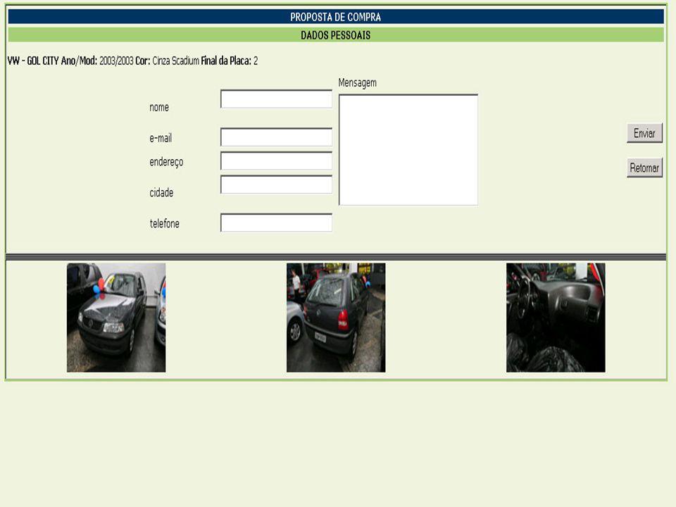  Nível de detalhamento maior  Fácil navegação ofertando veículos com características semelhantes ao da busca.