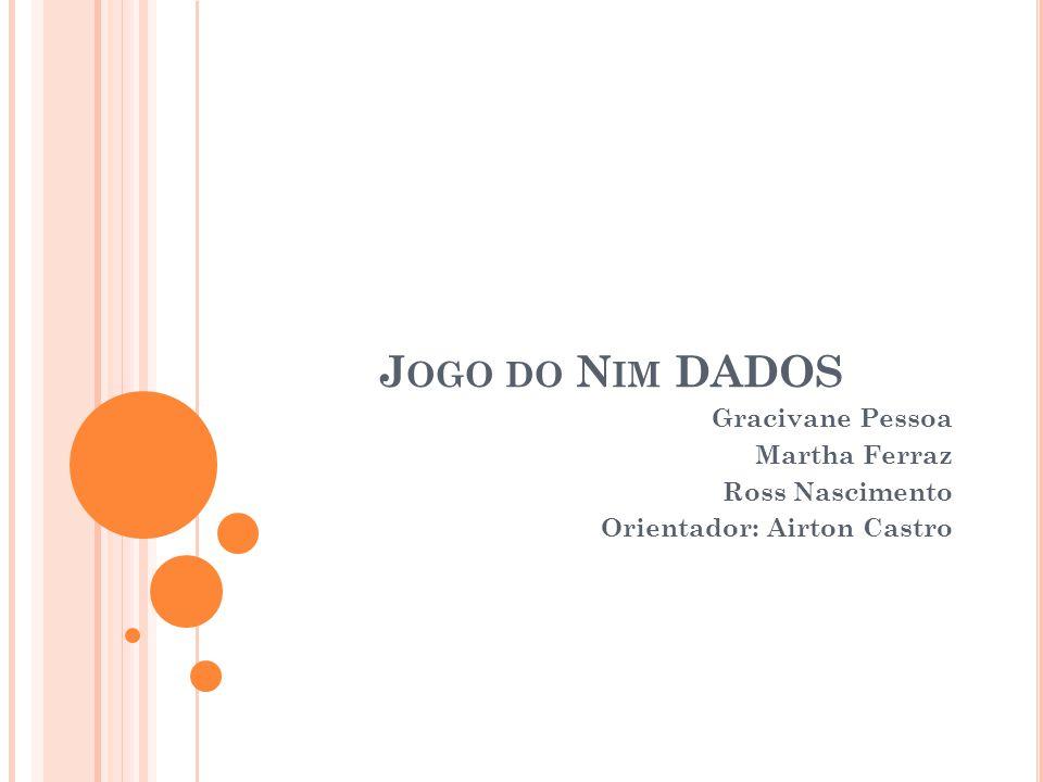 J OGO DO N IM D ADOS MATERIAL: UUma determinada quantidade de dados comuns.