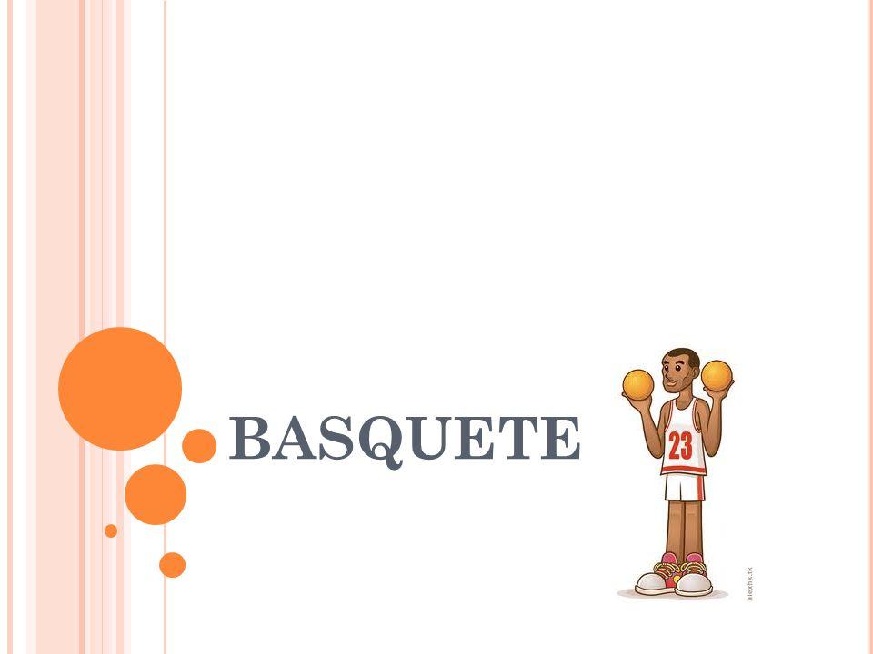 O JOGO : O objetivo central do basquete é fazer cesta no time adversário, ou seja, fazer com que a bola passe pelo cesto adversário.Você pode fazê-lo de varias maneiras,como: arremessando a bola, enterrando a bola ou seja forçando a passagem da bola com a mão ou tapeando a bola, dando um tapa fazendo a bola cair no cesto.