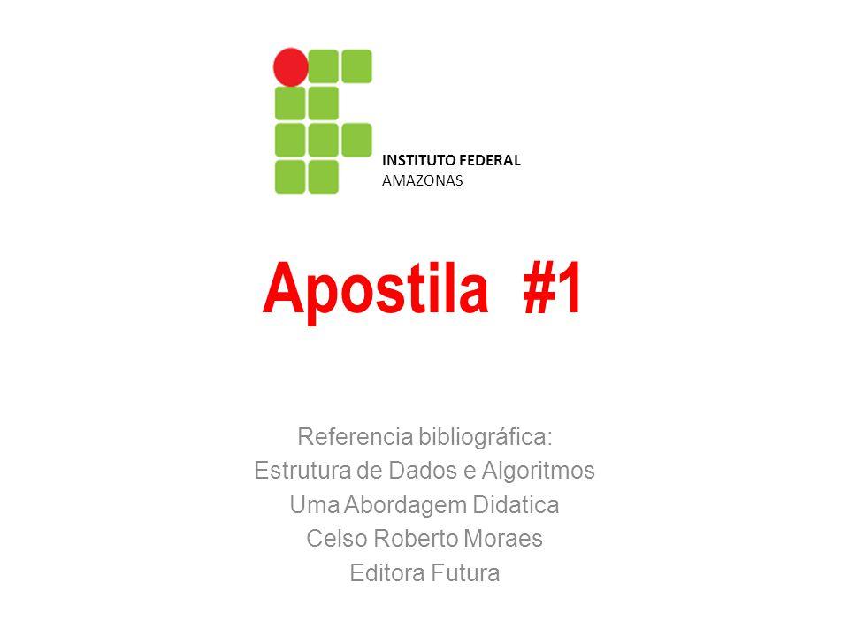 Metodologia para construção de algoritmos Estrutura de Dados