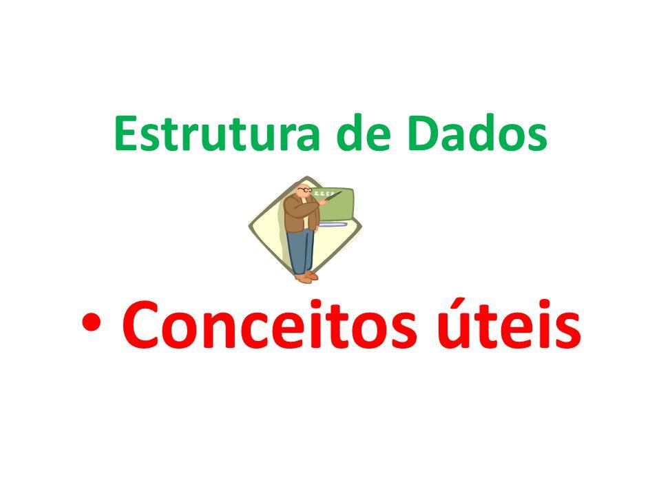 Estrutura de Dados Conceitos úteis