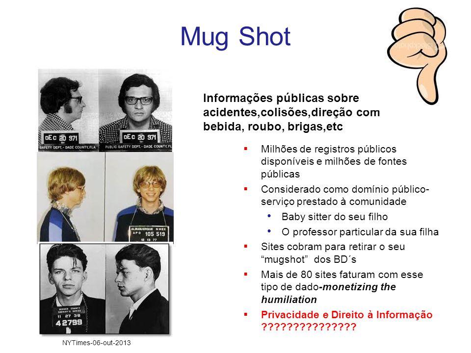 Mug Shot Informações públicas sobre acidentes,colisões,direção com bebida, roubo, brigas,etc  Milhões de registros públicos disponíveis e milhões de