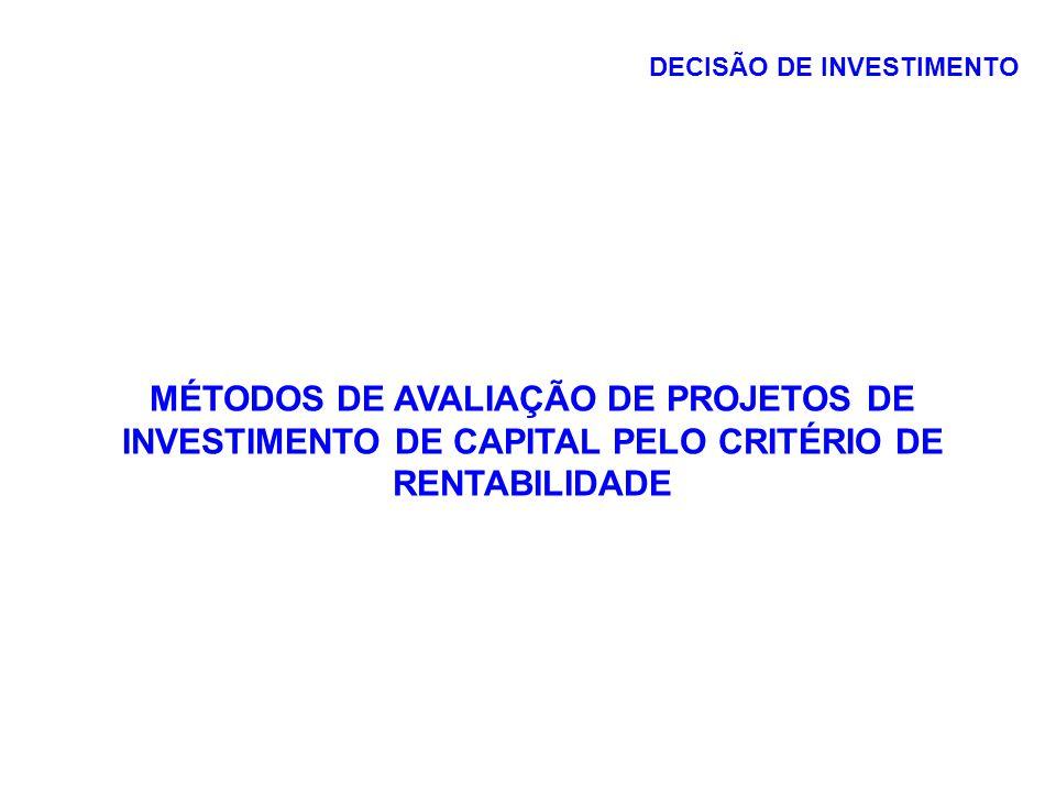 EXEMPLO ANOSFluxo de caixa 0($1.000) 1500 2400 3300 4100 Calcular: 1.