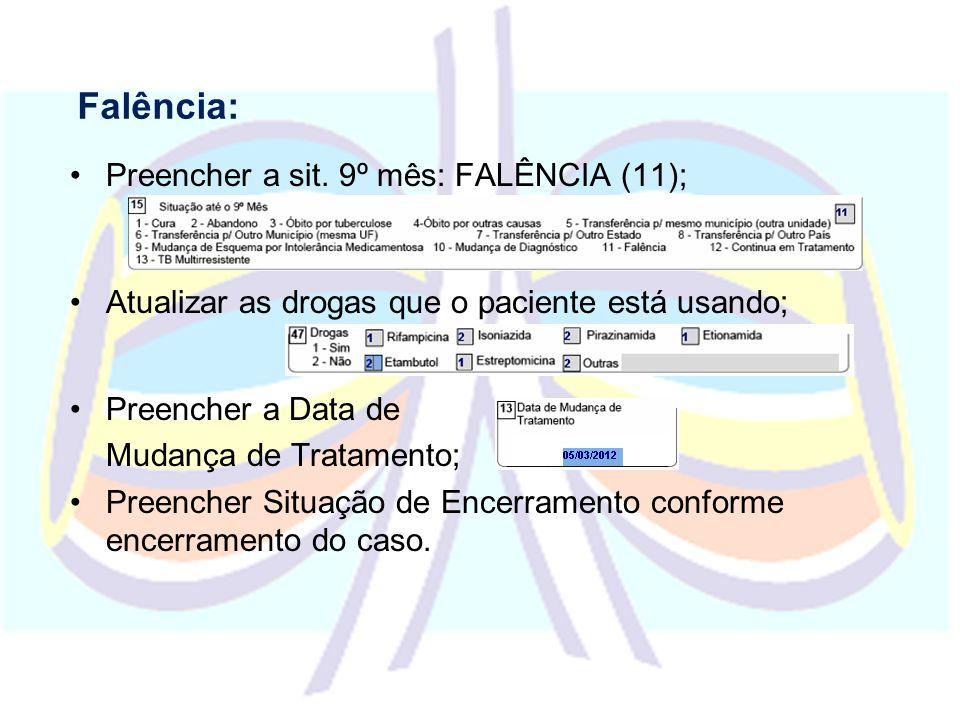 Vigilância dos Óbitos por Tuberculose Atribuições da DIVEP Realizar levantamento de casos de óbito no SIM ou SINAN Encaminhar para as DIRES os casos discordantes (casos que estejam em um sistema e não no outro) A investigação deverá ser realizada no município de ocorrência do óbito e no de residência.