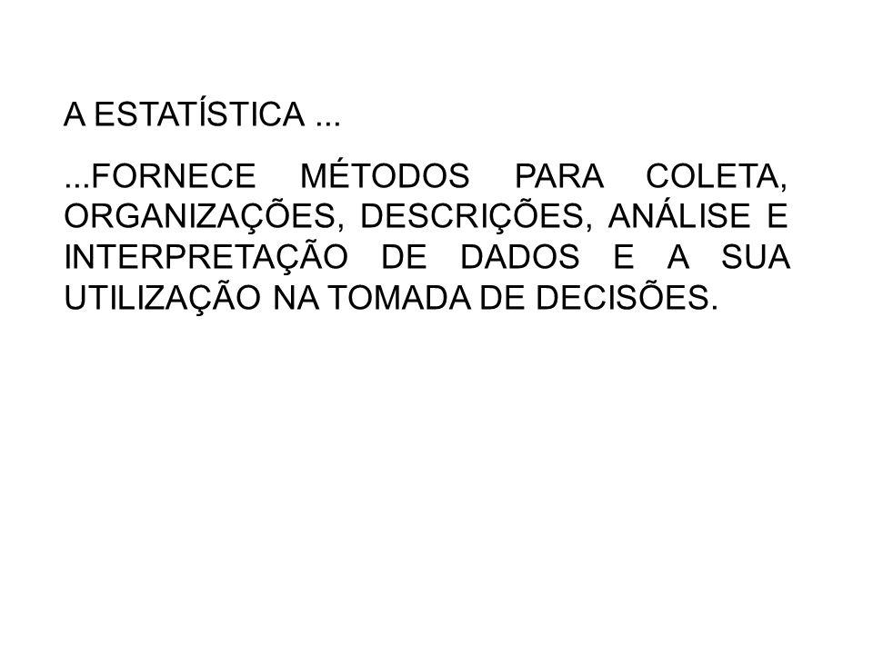 PRINCIPAIS TIPOS DE TABELAS