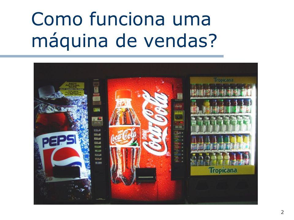 2 Como funciona uma máquina de vendas?