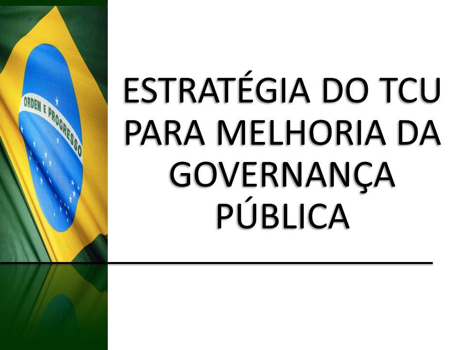ESTRATÉGIA DO TCU PARA MELHORIA DA GOVERNANÇA PÚBLICA