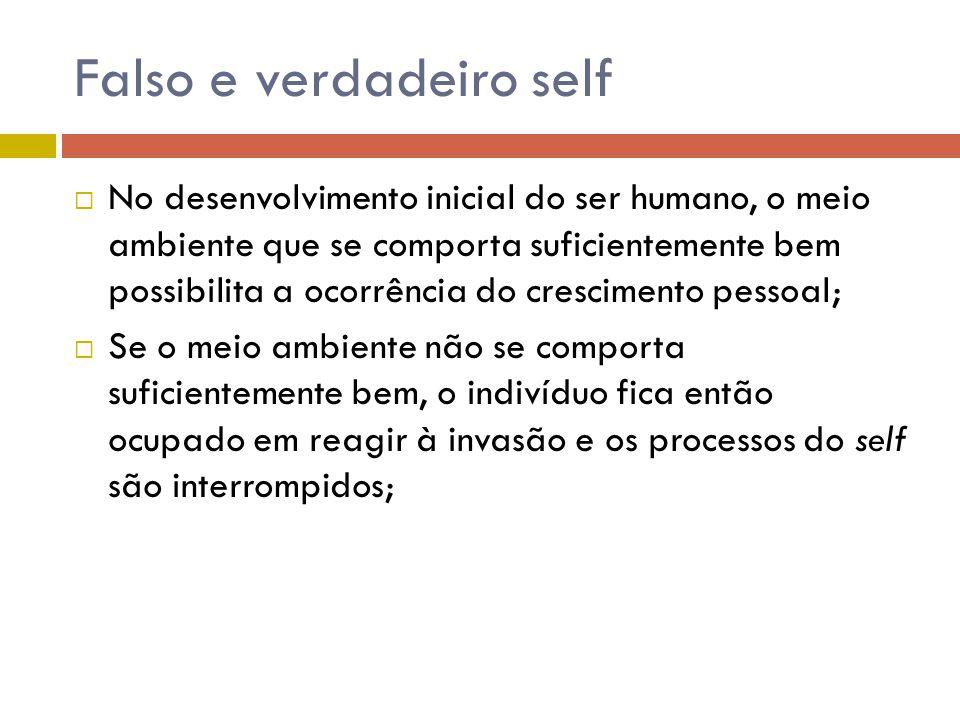 Os passos da regressão no setting 1.Fornecimento de um setting que transmita segurança; 2.