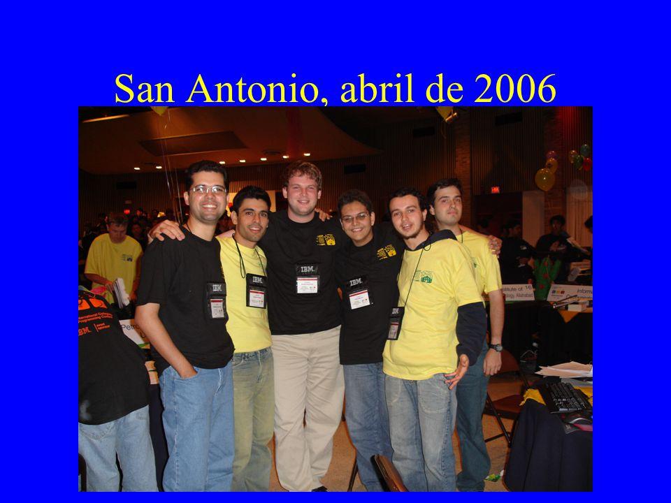San Antonio, abril de 2006